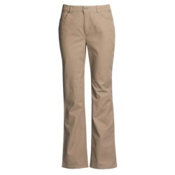 FDJ French Dressing Olivia Pants - Bootcut, Stretch Cotton (For Women) in Tan