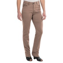 FDJ French Dressing Olivia Pants - Silktouch Denim, Straight Leg (For Women) in Sand - Closeouts