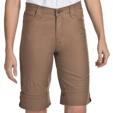 FDJ French Dressing Olivia Safari Bermuda Shorts (For Women) in Cairo Brown