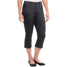 FDJ French Dressing Olivia Silk Touch Denim Capris (For Women) in Ebony - Closeouts