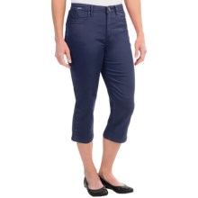 FDJ French Dressing Olivia Silk Touch Denim Capris (For Women) in Indigo - Closeouts