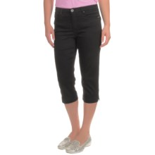 FDJ French Dressing Olivia Slim Capris (For Women) in Black - Closeouts