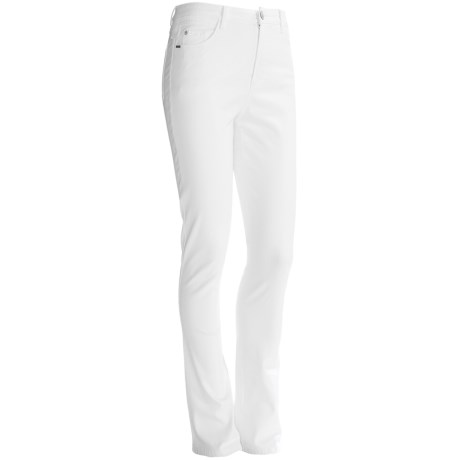 FDJ French Dressing Olivia Slim-Leg Pants - Colored Denim, Stretch (For Women) in White