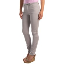 FDJ French Dressing Olivia Slim Leg Pants (For Women) in Silver - Overstock