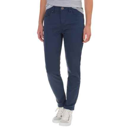FDJ French Dressing Olivia Slim Stretch Ankle Jeans (For Women) in Navy - Closeouts