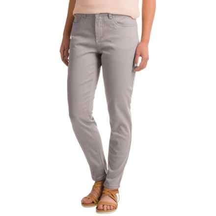 FDJ French Dressing Olivia Slim Stretch Pocket Ankle Pants (For Women) in Sterling - Closeouts