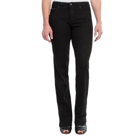 FDJ French Dressing Olivia Stretch Colored Denim Jeans - Bootcut (For Women) in Onyx