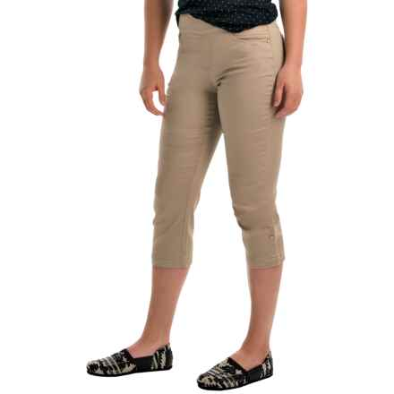 FDJ French Dressing Olivia Stretch Jegging Capris (For Women) in Beach Bluff - Closeouts