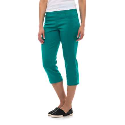 FDJ French Dressing Olivia Stretch Jegging Capris (For Women) in Sea Foam - Closeouts