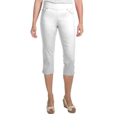 FDJ French Dressing Olivia Stretch Jegging Capris (For Women) in White - Closeouts