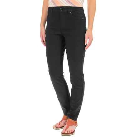 FDJ French Dressing Olivia Techno Rayon Pants - Slim Leg (For Women) in Black - Closeouts