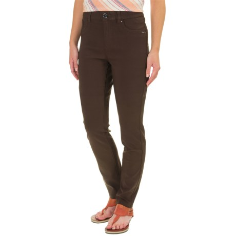 FDJ French Dressing Olivia Techno Rayon Pants - Slim Leg (For Women) in Expresso