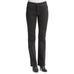 FDJ French Dressing Overdye Olivia Jeans - Flare Leg, Stretch Cotton (For Women) in Onyx