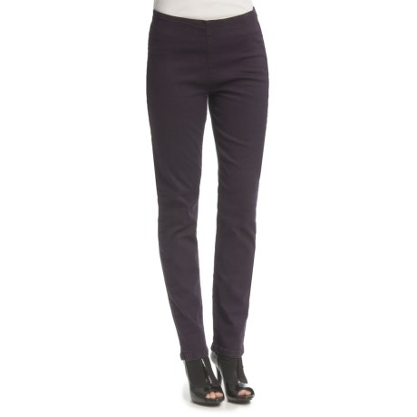 FDJ French Dressing Overdye Side-Zip Leggings - Straight Leg (For Women) in Plum
