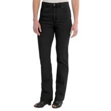 FDJ French Dressing Overdye Suzanne Jeans - Straight Leg (For Women) in Onyx - Closeouts