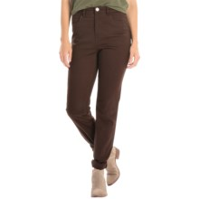 FDJ French Dressing Peggy Autumn Hues Jeans - Straight Leg (For Women) in Cocoa - Closeouts
