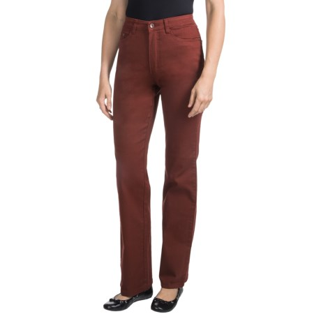 FDJ French Dressing Peggy Bootcut Jeans - Overdyed (For Women) in Burnt Red