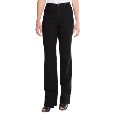 FDJ French Dressing Peggy Bootcut Jeans - Overdyed (For Women) in Onyx