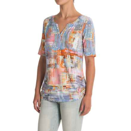 FDJ French Dressing Posh Pastel Shirt - Long Sleeve (For Women) in Multi - Closeouts