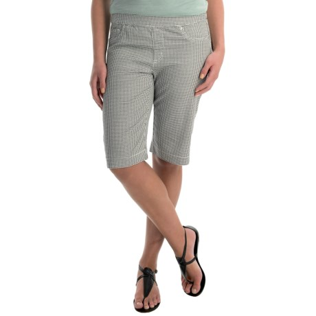 FDJ French Dressing Pull On Bermuda Shorts (For Women)