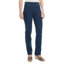 FDJ French Dressing Pull-On Pants - Straight Leg (For Women) in Indigo - Closeouts
