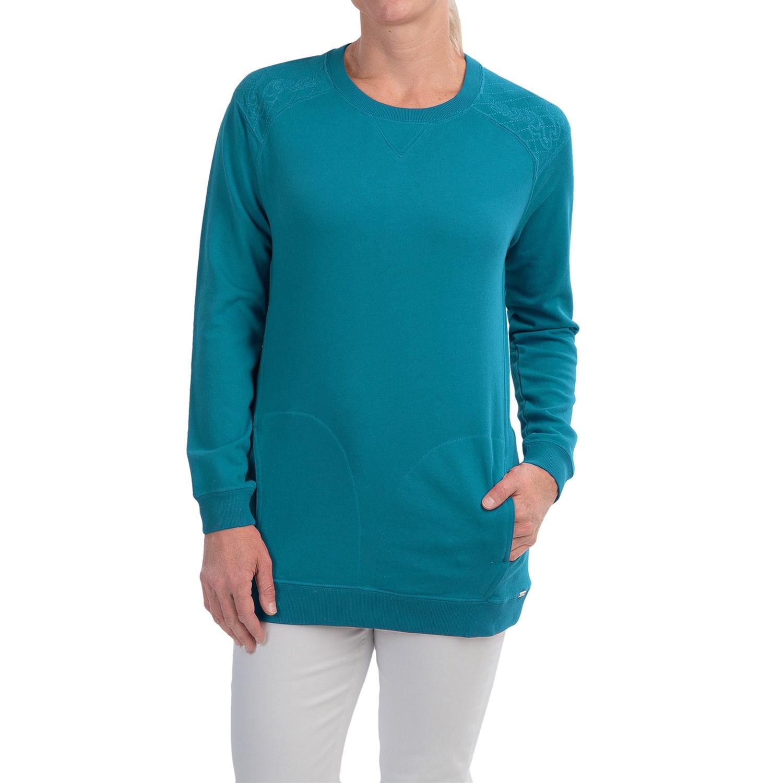 fort collins womens sweatshirt coral bjfrmxi