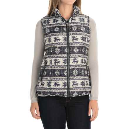 FDJ French Dressing Quilted Vest - Full Zip (For Women) in Multi - Closeouts