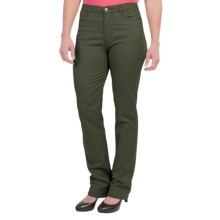 FDJ French Dressing Silk Touch Denim Suzanne Jeans (For Women) in Moss - Closeouts