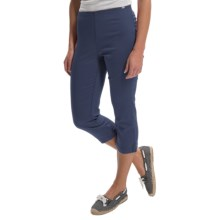 FDJ French Dressing Silk Touch Jegging Capris (For Women) in Indigo - Closeouts
