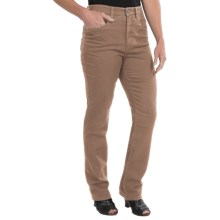 FDJ French Dressing Silktouch Denim Peggy Pants - Straight Leg (For Women) in Sand - Closeouts