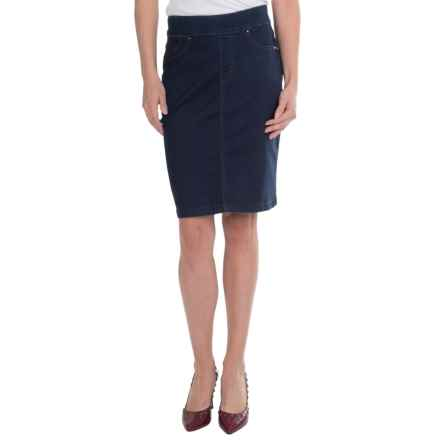 FDJ French Dressing Silktouch Denim Pull-On Skirt (For Women) in Indigo - Closeouts