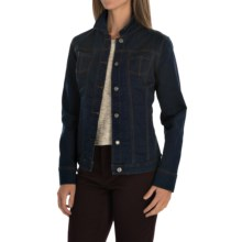 FDJ French Dressing Silktouch Jean Jacket (For Women) in Indigo - Closeouts