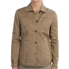 FDJ French Dressing Silktouch Jean Jacket (For Women) in Sand - Closeouts