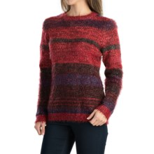 FDJ French Dressing Space-Dye Sweater - Crew Neck (For Women) in Multi - Closeouts