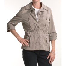 FDJ French Dressing Summer Chino Jacket (For Women) in Mushroom - Closeouts