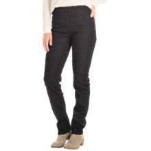 FDJ French Dressing Super Jeggings - Flocked Dot (For Women) in Black - Closeouts