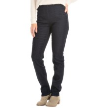 FDJ French Dressing Super Jeggings - Flocked Dot (For Women) in Indigo - Closeouts