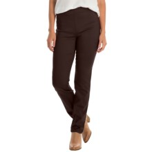 FDJ French Dressing Super Jeggings - Stretch (For Women) in Chestnut - Closeouts