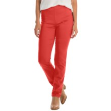 FDJ French Dressing Super Jeggings - Stretch (For Women) in Hibiscus Orange - Closeouts