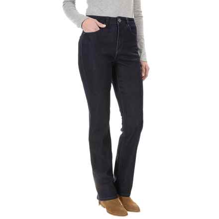 FDJ French Dressing Suzanne Cozy Denim Jeans - Straight Leg (For Women) in Indigo - Closeouts