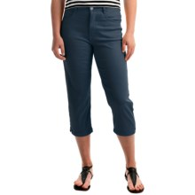 FDJ French Dressing Suzanne Crop Pants - High Rise (For Women) in Navy - Overstock
