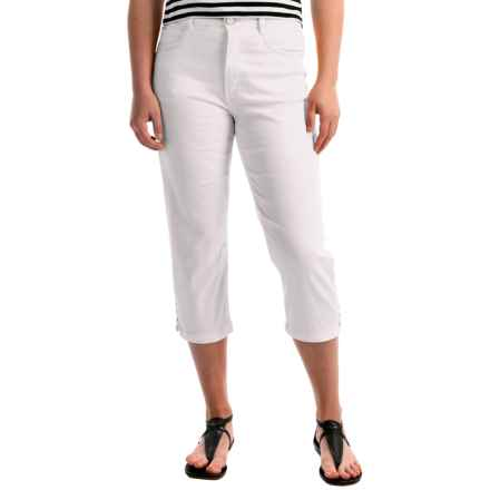 FDJ French Dressing Suzanne Crop Pants - High Rise (For Women) in White - Overstock