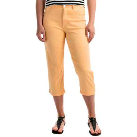 FDJ French Dressing Suzanne Crop Pants - High Rise (For Women) in Yellow - Overstock