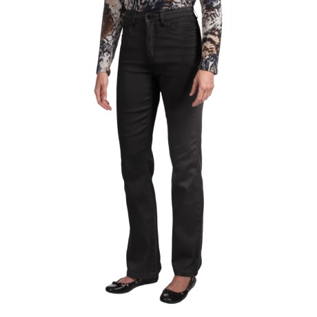 FDJ French Dressing Suzanne Divine Twill Pants - Bootcut (For Women) in Black