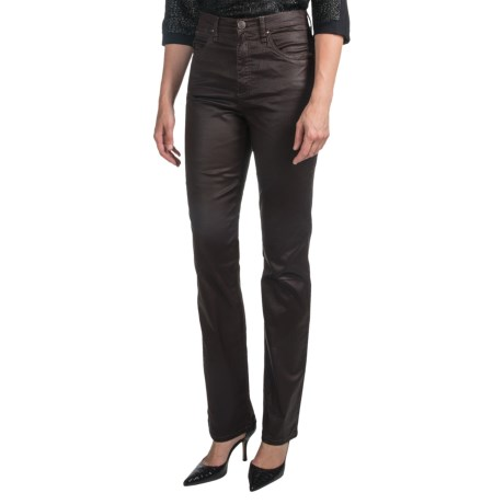 FDJ French Dressing Suzanne Glam Jeans - Straight Leg (For Women) in Bark