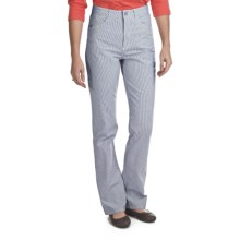 FDJ French Dressing Suzanne Nantucket Stripe Pants - Straight Leg (For Women) in Indigo - Closeouts