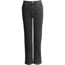 FDJ French Dressing Suzanne Original Slim Leg Jeans - Stretch (For Women) in Black - Closeouts