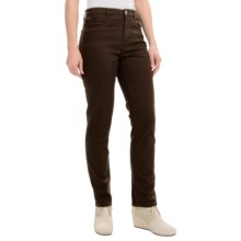 FDJ French Dressing Suzanne Pants - Slim Leg (For Women) in Cocoa - Closeouts