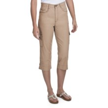 FDJ French Dressing Suzanne Safari Capris (For Women) in Desert - Closeouts