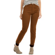 FDJ French Dressing Suzanne Slim Leg Pants - Butter Denim (For Women) in Vicuna - Closeouts
